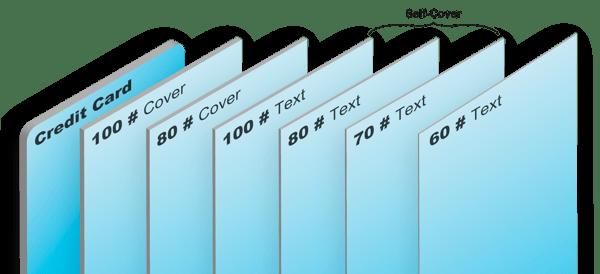 Paper Stock Thickness PrintingCenterUSA