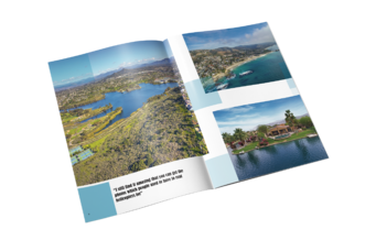 Example of an Open Saddle Stitch Photography Book