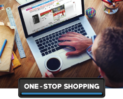 one-stop shopping affords convenience for online printing projects