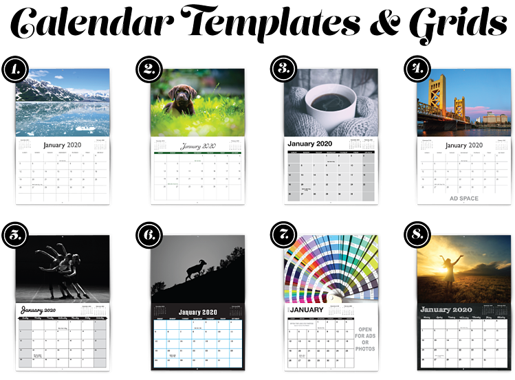 2020 Calendar Template Download