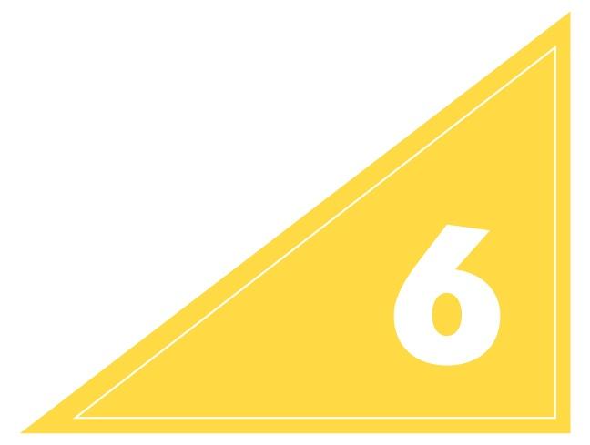Number 6 Tip for Booklet Design