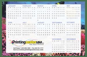 PrintingCenterUSA's wall calendar