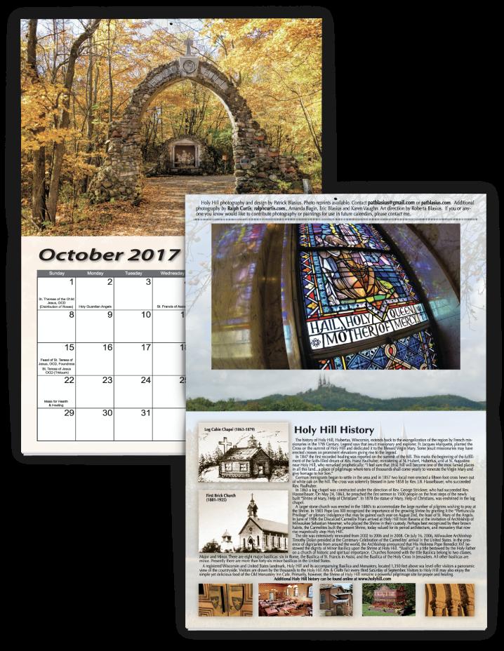 Religious/Church Fundraising Calendar