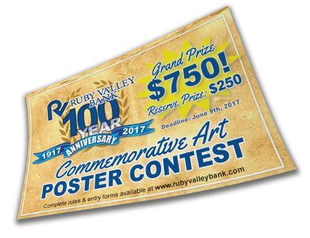 Example Contest Flyer Printing