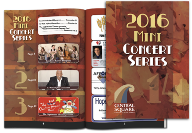 Concert program example
