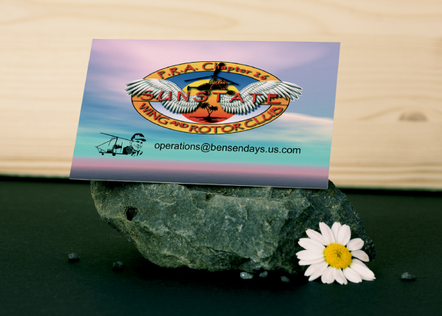 Example of one of our customer's business cards