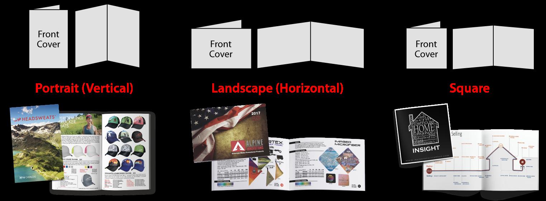 Portrait vs. Landscape vs. Square