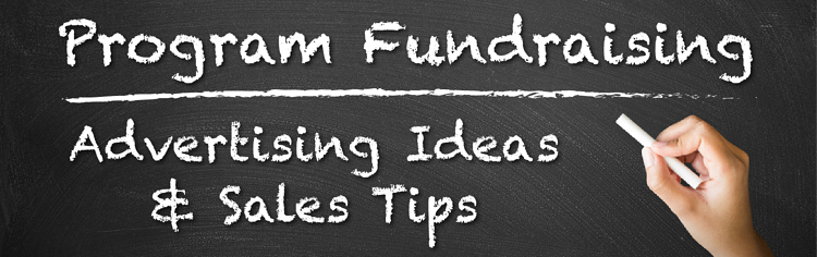 Program Fundraising - Advertising Ideas and Sales Tips header image
