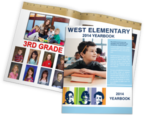 """West Elementary"" online yearbook from 2014"