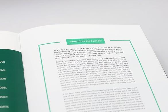 Annual Report Topics