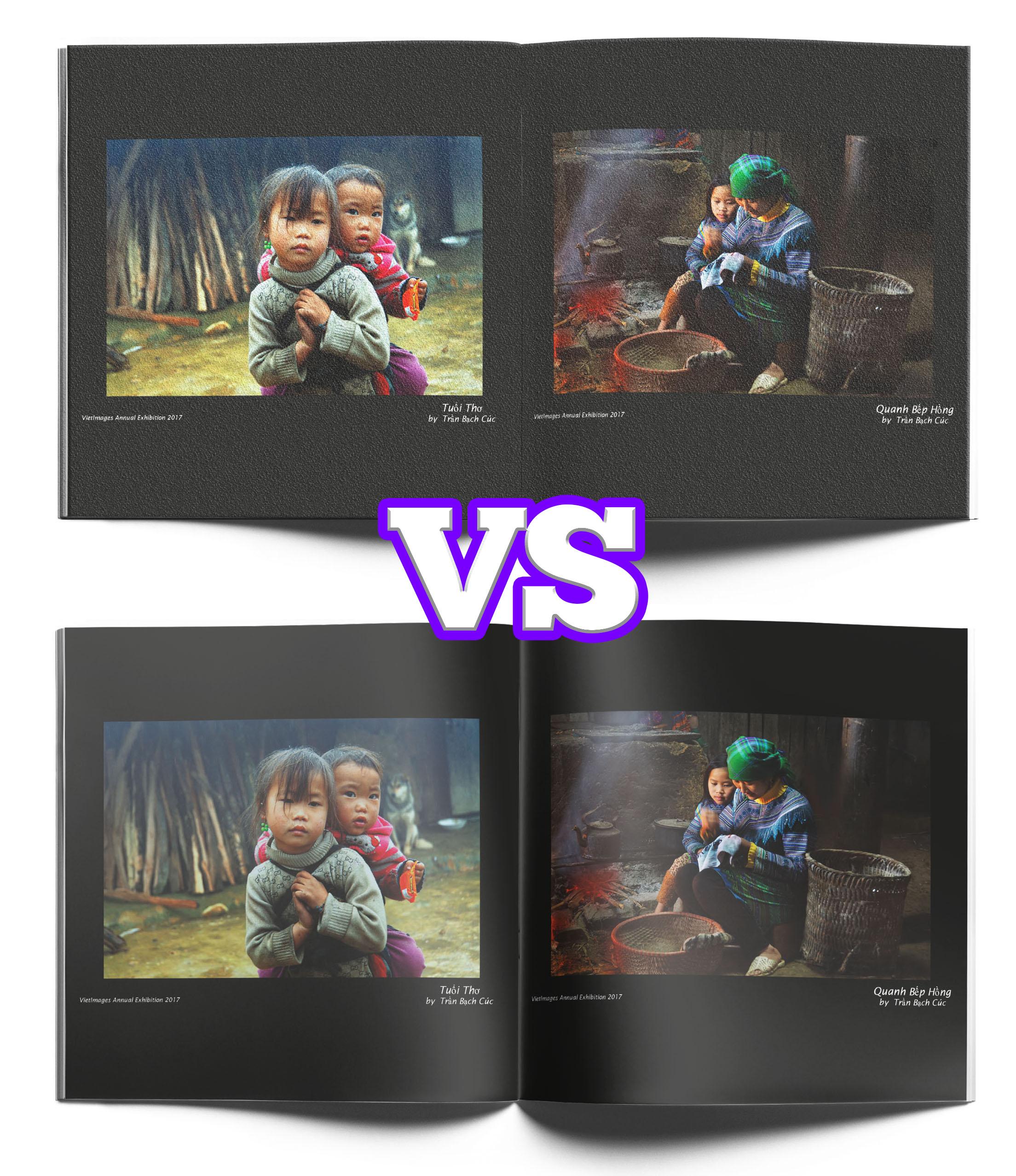 Gloss vs. Matte Paper