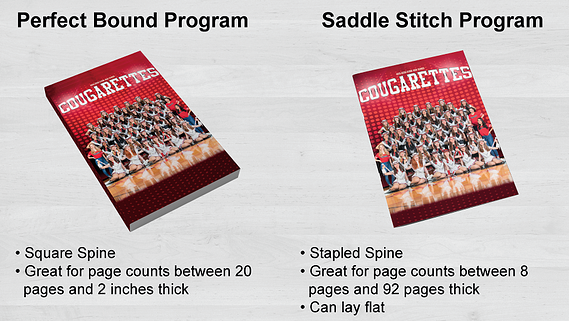 Difference Between Perfect Bound and Saddle Stitch Binding Options