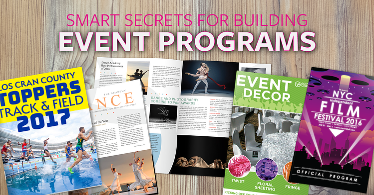 smart secrets for building event programs