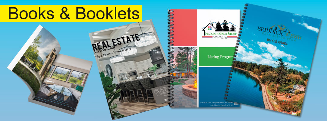 Examples of Real Estate Books and Booklets