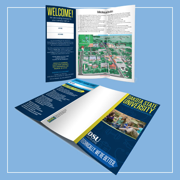 Brochure Example with Mailer!