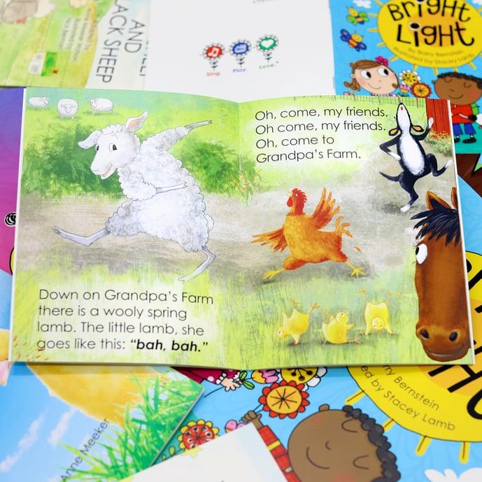 Bright Colored Children's Book