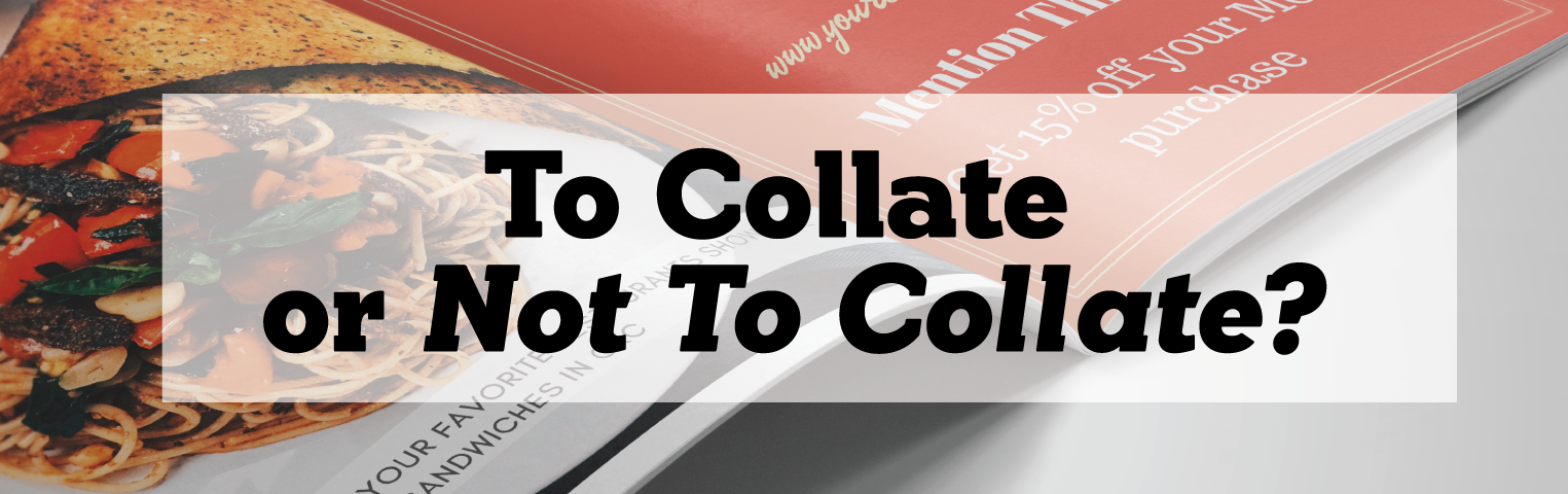 To Collate or Not To Collate Image Header