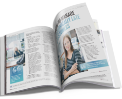 collated multi page magazine
