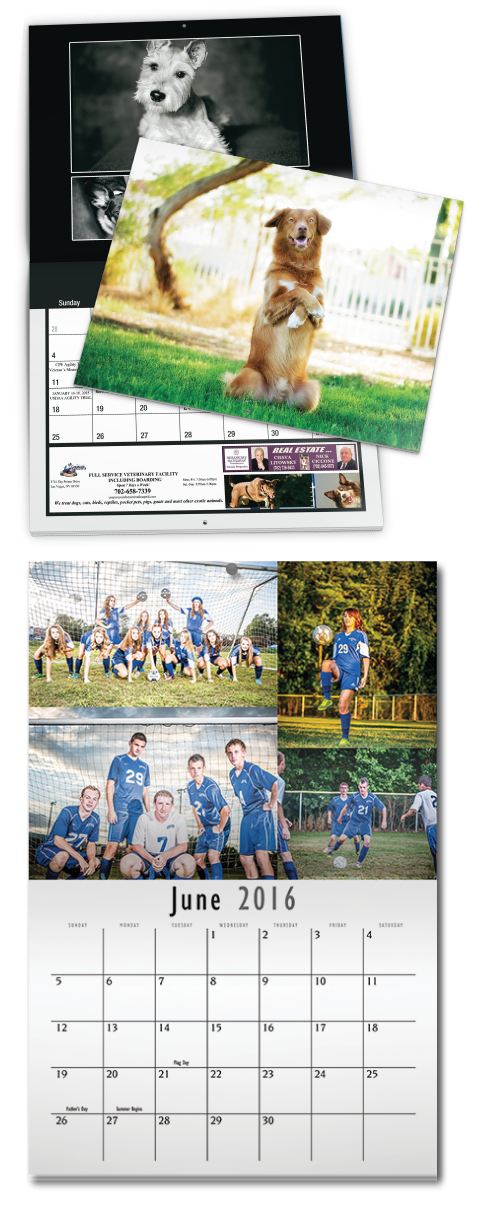 Photography calendars are the best, and they are affordable when you print with PrintingCenterUSA.