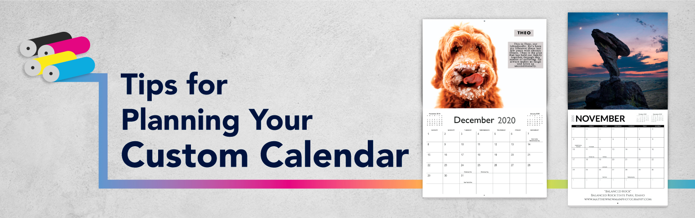 Calendar Printing 2020 Tips