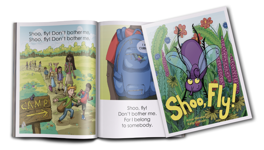 "Image and sneak peek into ""Shoo, Fly!"""