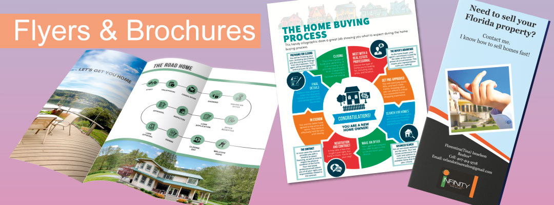 Real Estate Flyers and Brochures
