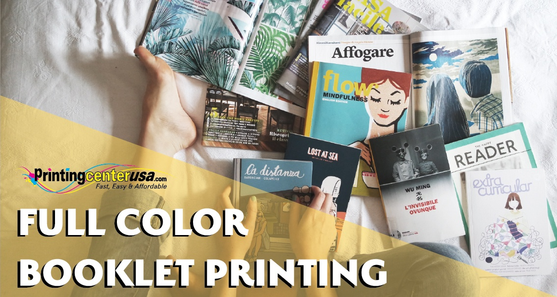 New to Booklet Design? We can show you how to get full color booklets at an affordable price!