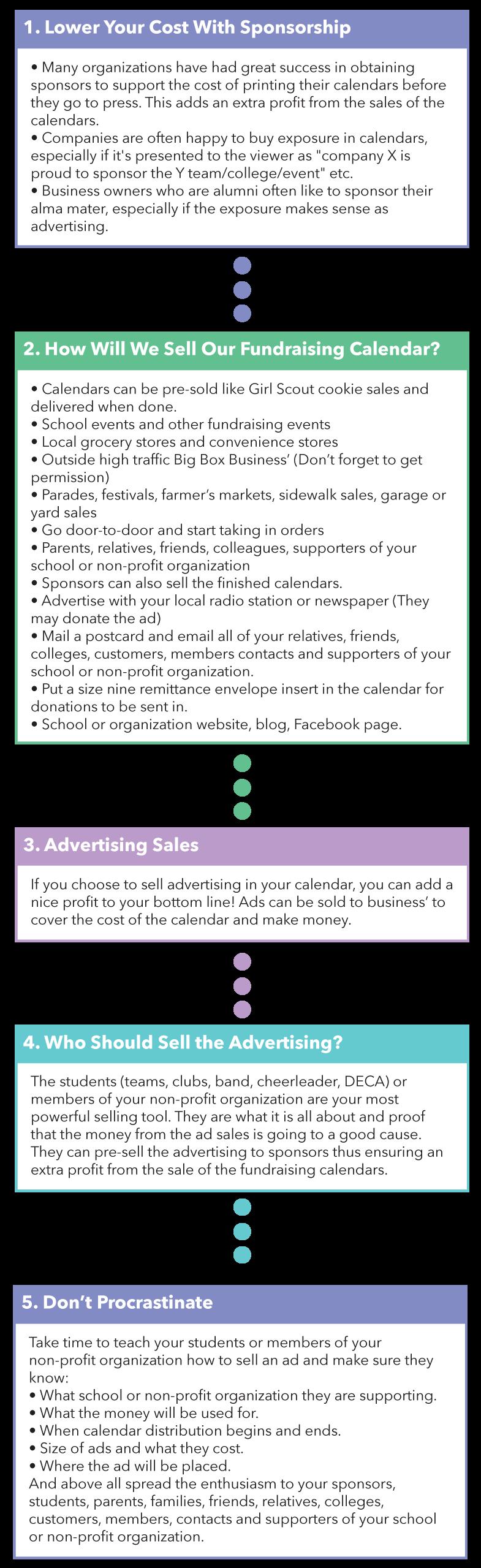 Advertising Tips for your next calendar!