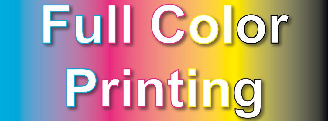 Full Color Printing Header