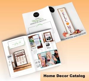 Home Decor Catalog Mockup