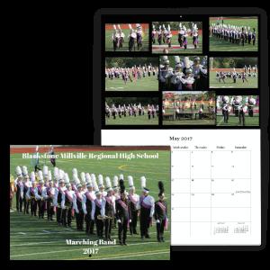 Marching Band Custom Fundraising Calendar