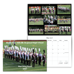 Marching Band Custom Fundraising Calendar