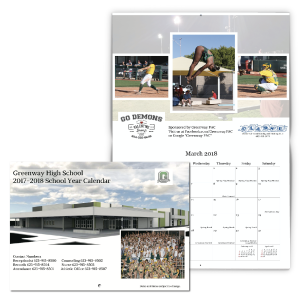 High School Fundraising Calendar