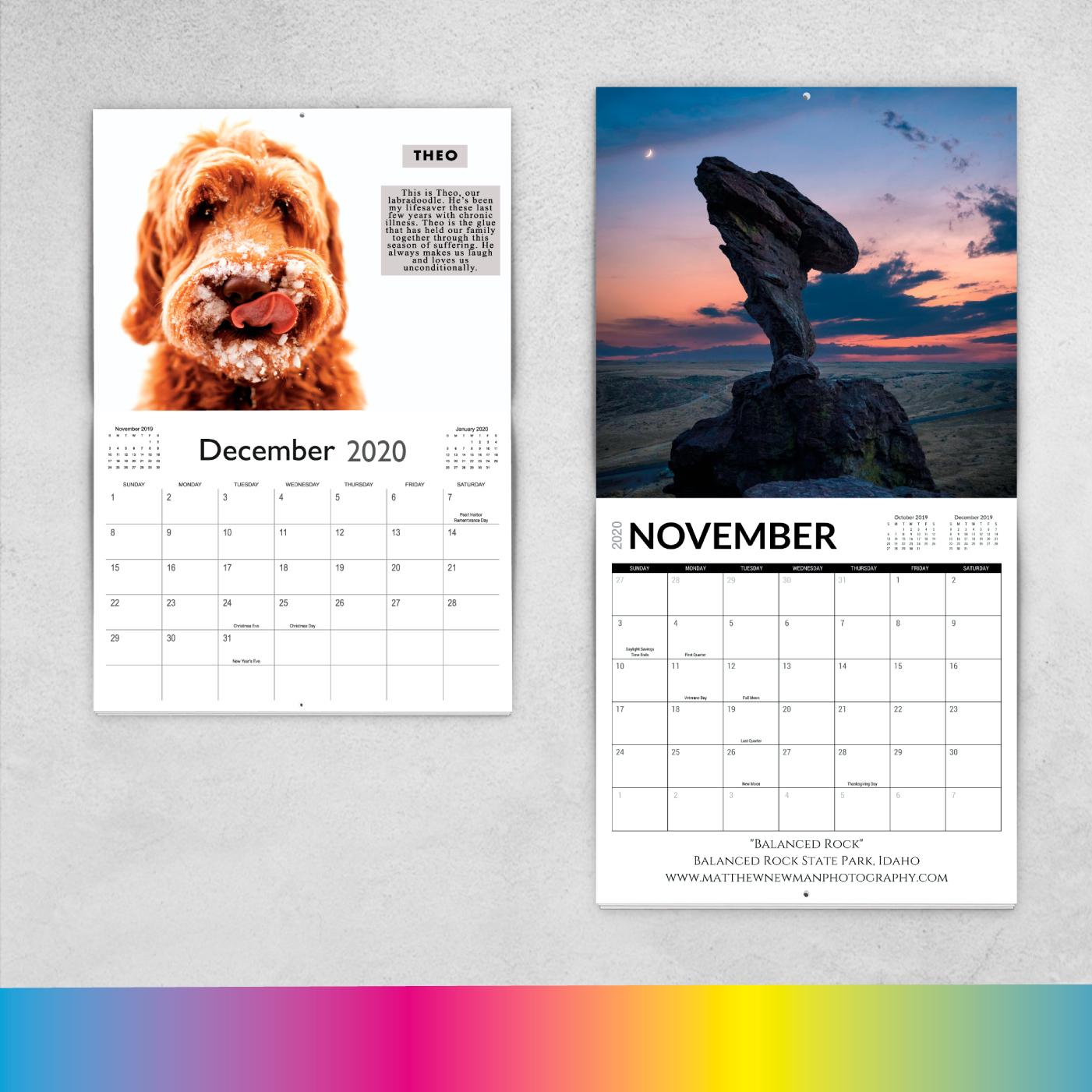 Custom Calendar Designer