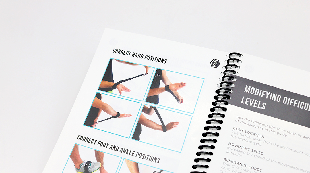 spiral binding guide
