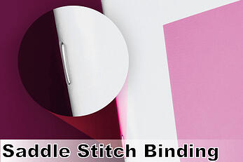 Saddle Stitch Binding Example