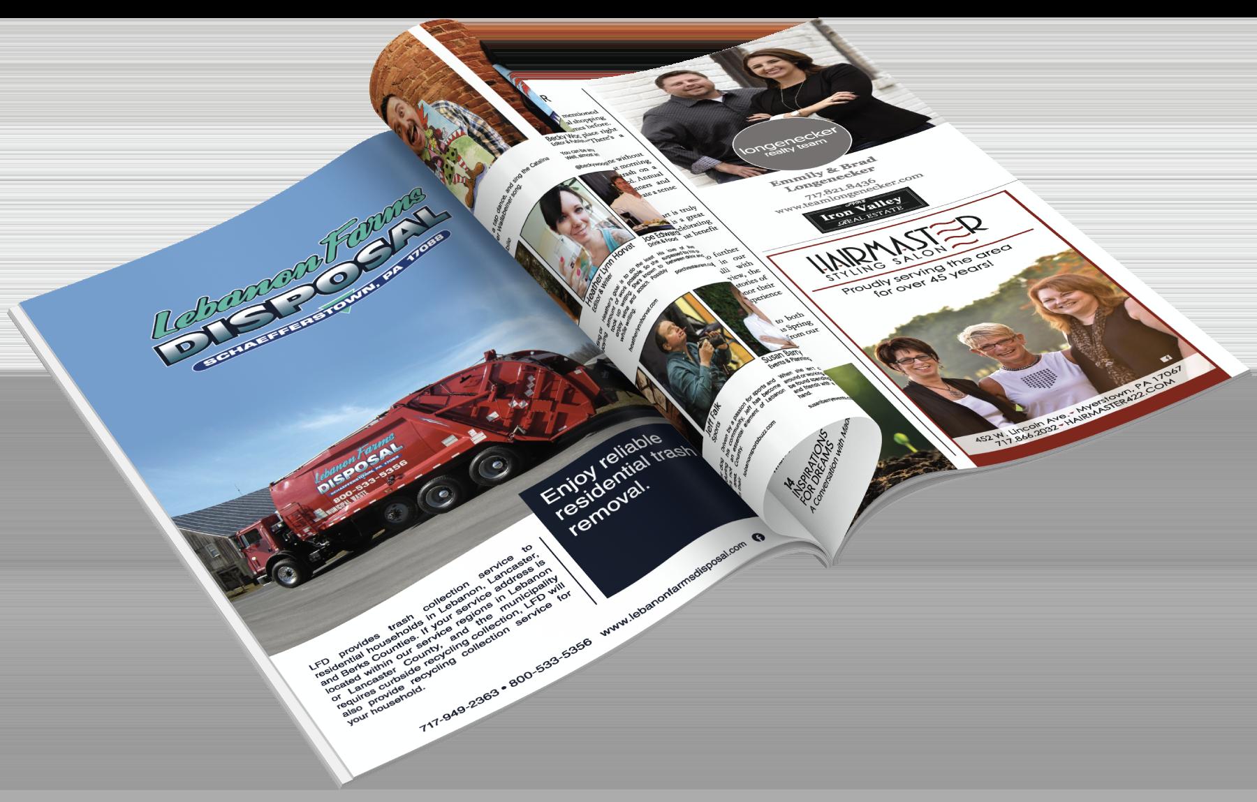 Online Magazine Printing example
