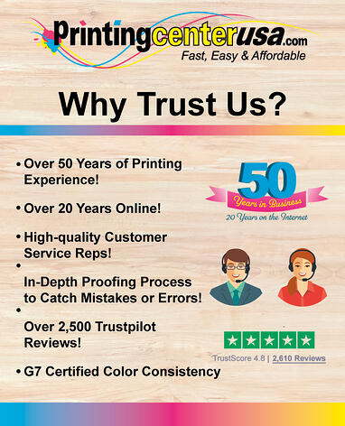 Why Trust PrintingCenterUSA