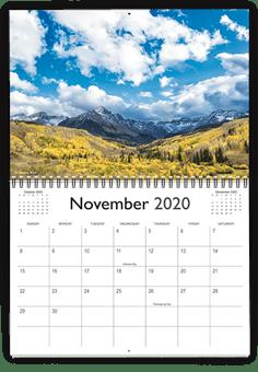 Wire-O Calendar