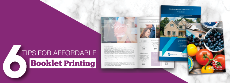 6 tips for affordable booklet printing