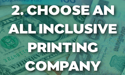 Choose An All Inclusive Printing Company for your Catalogs!
