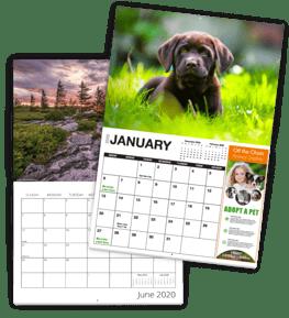Photography Calendar Example and Advertising Calendar Example