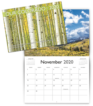 2020 Landscape Photography Calendar Example