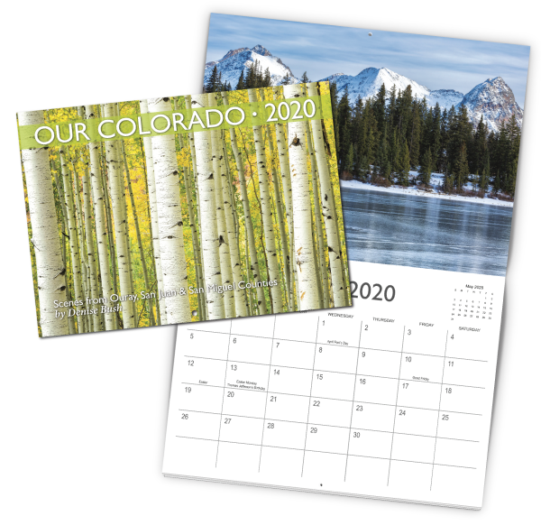 Photography Calendar Example