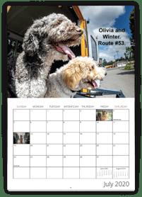 Pet Calendar Example