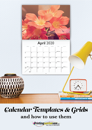 Calendar Templates and Grids
