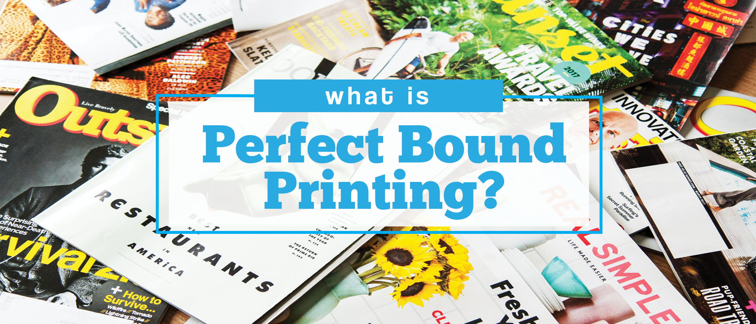 what is perfect bound printing?
