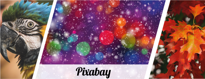 pixabay image collage