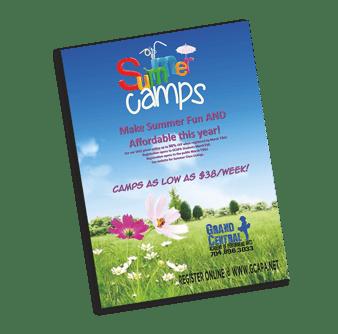 Summer Camp Poster Printing