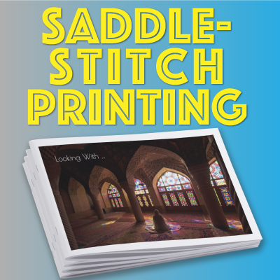 Saddle-Stitch Printing for Books, Calendars, Catalogs & Magazines
